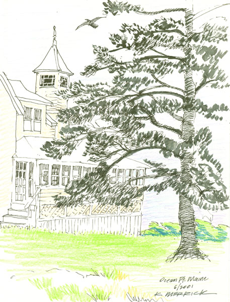 Ocean Point House & Tree