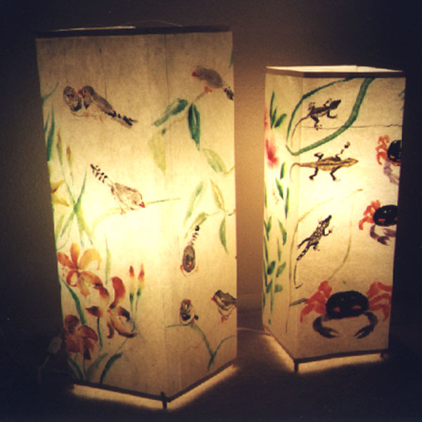 Lamp/lantern shades/view 2