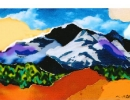 Mountain Collage/Blue sky