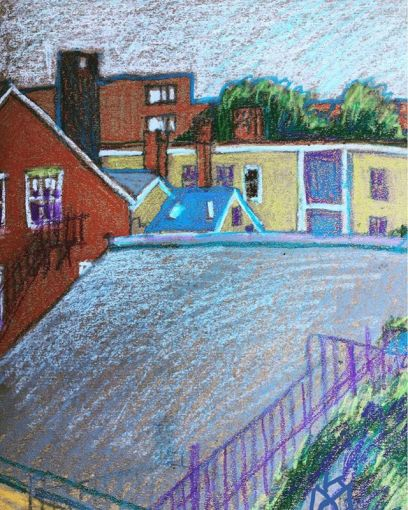 """""""Rooftops in Portland""""... Maine... Day 200"""