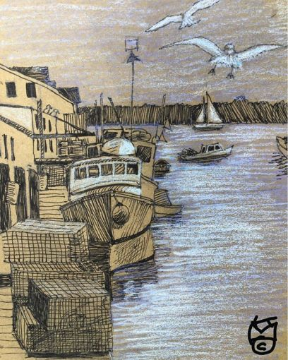 """""""Fishing Boats & Lobster Traps""""... Day 238"""