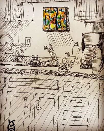"""""""Color Photo in the Kitchen""""..... Day 243"""